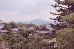 Nijo-jo castle lookout japan kyoto japlanning writing
