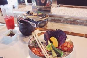 Kotoshi BBQ Pontocho fine dining kyoto japlanning writing freelance