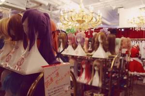 wig shop Harajuku takeshita-dori Japan Tokyo fashion shopping JaPlanning