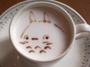 totoro coffee latte art JaPlanning Japan travel ghibli