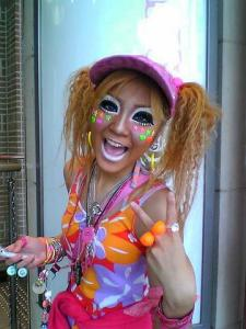 Ganguro Kogal harajuku takeshita-dori Japan travel JaPlanning fashion