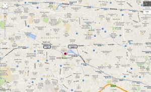 Ghibli museum access map mitaka kichijoji stations JR Chuo Tokyo Japan JaPlanning maps travel