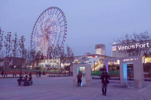 Palette Town Daikanransha Venus Fort Shopping Tokyo Odaiba Japan JaPlanning