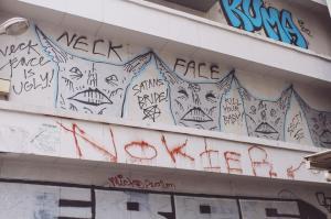 Shibuya graffiti graff neckface kill your baby Japan Tokyo JaPlanning travel