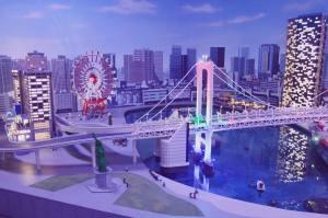 Odaiba LegoLand Miniland Tokyo Japan Aquacity Decks Beach JaPlanning