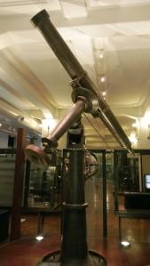 telescope 19th century tokyo ueno museum science and nature Chikjukan gallery 2F