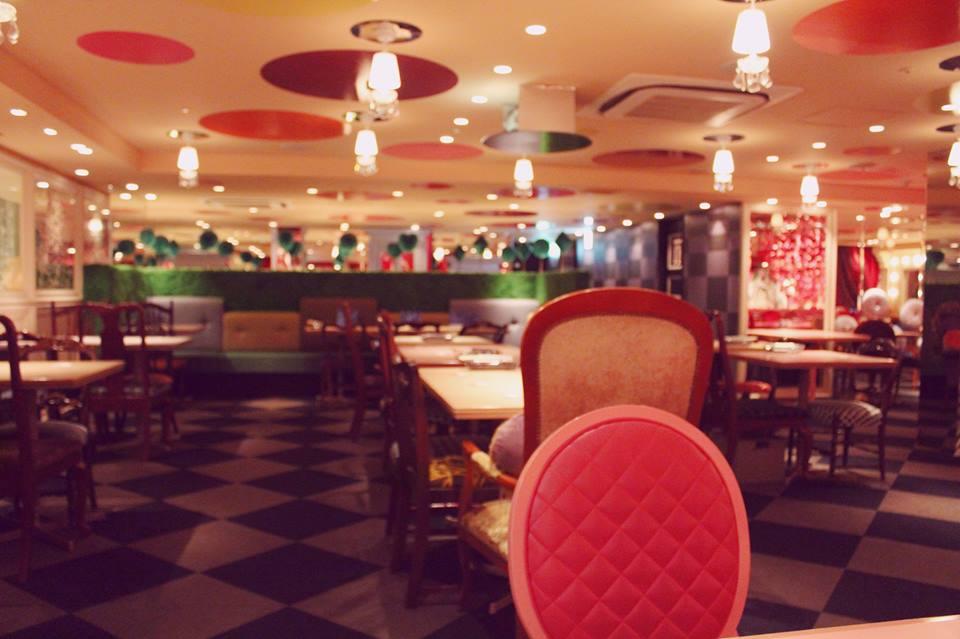 Alice In Wonderland Restaurant Shinjuku Japlanning