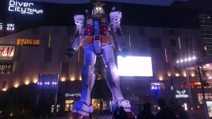 Gundam Sunrise studios mecha MS Tokyo Japan Odaiba JaPlanning