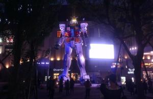 The Gundam Odaiba Tokyo Japan Sunrise Studios JaPlanning