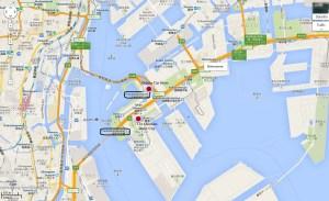 Gundam Cat Store Odaiba Gandam Shimizu Tokyo Japan JaPlanning maps travel