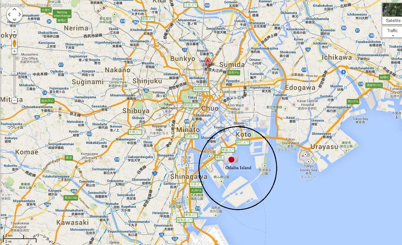 Odaiba Island Tokyo JaPlanning