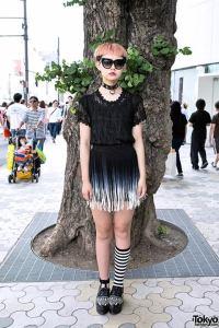 Yuki Tokyo Fashion Harajuku fashion JaPlanning travel takeshita