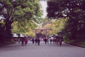Meiji Shrine Naien entrance Harajuku Yoyogi Shibuya Tokyo Japan JaPlanning travel Shinto