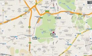 Meiji Shrine Harajuku Shibuya  Tokyo Japan  JaPlanning maps travel