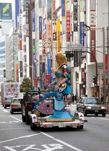 Robot Restaurant Shinjuku Kabuchiko Tokyo Japan mecha dancing girls travel JaPlanning