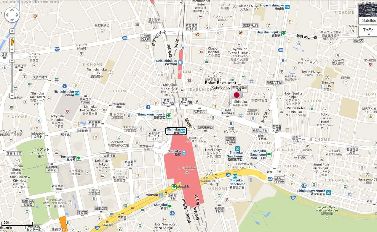 robot restaurant – shinjuku  japlanning - kabukicho shinjuku vegas tokyo robot restaurant japan japlanning travel