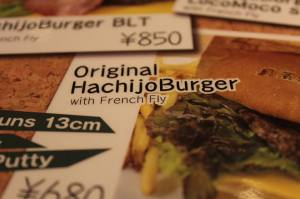 Hachijo burger french fry fly Japan engrish Kyoto jaPlanning travel